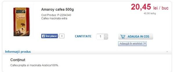Cât un pachet mare de cafea. Sursa: coradrive.ro