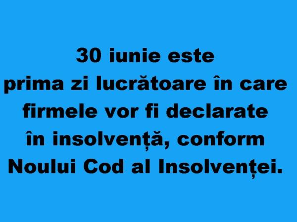 Noul Cod al Insolventei_legea insolventei