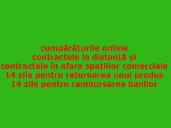 Care sunt datele importante pentru returnarea produselor online