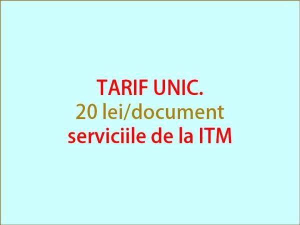 tarif ITM