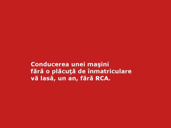 amenzile de circulatie_cat reprezinta_cat costa_placuta de inmatriculare_RCA