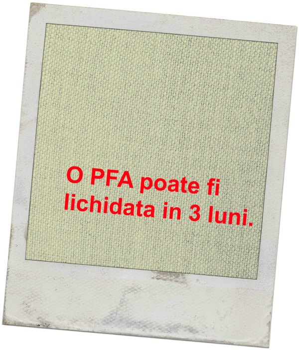 faliment_insolventa_lichidare_cum poate fi lichidata o PFA_cum poate intra in faliment o PFA