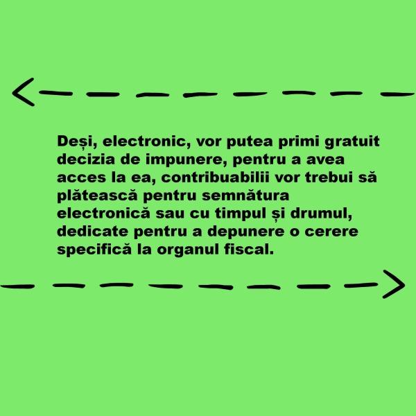 semnatura electronica_decizia de impunere_situatia de la angajator_gratuit