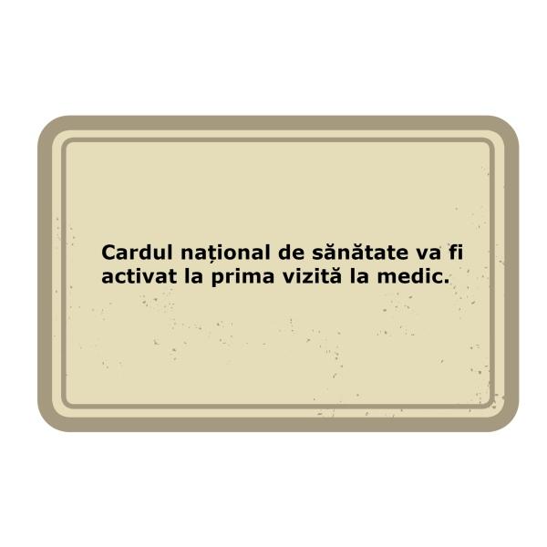 card de sanatate_activar_Posta Romana