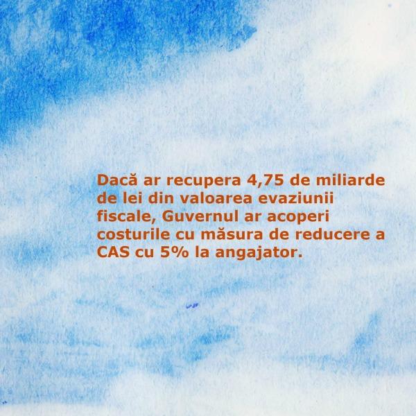 reducerea CAS_evaziunea fiscala_plati la stat pentru salariu_angajator
