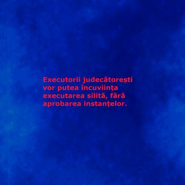 executarea silita_executor judecatoresc_Codul de procedura civila_modificare