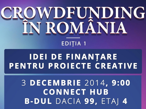 conferinta crowdfunding in Romania