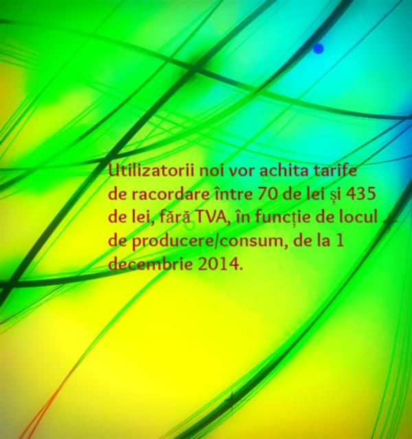 tarifele de racordare_energie electrica_decembrie 2014
